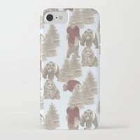 bears iPhone & iPod Cases featuring Bears  by Ellie Price