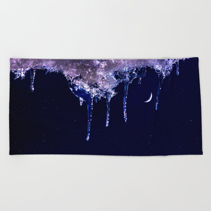 Cool night Beach Towel