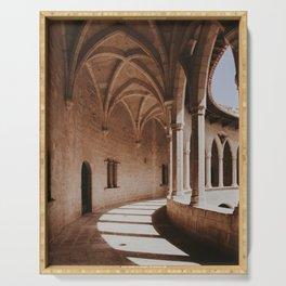 Palma de Mallorca castle | Fine Art Travel Photography Serving Tray