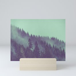 Adventure Awaits Forest Mini Art Print