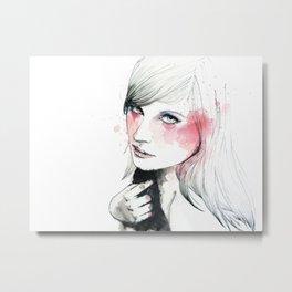 Ania Metal Print