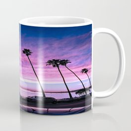 Butterfly Beach Palms At Sunset Coffee Mug