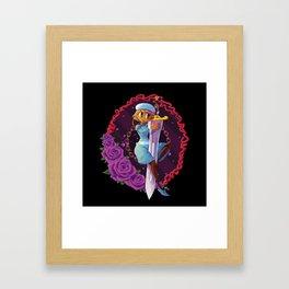 Sword Framed Art Print