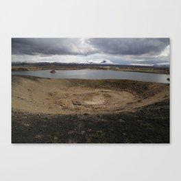 Iceland - Myvatn Canvas Print