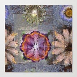 Stickball Au Naturel Flower  ID:16165-150329-07211 Canvas Print