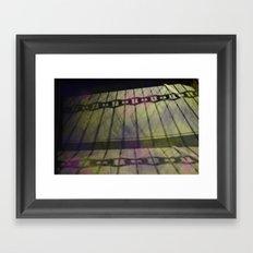 Abstract Mixed Media Design Framed Art Print