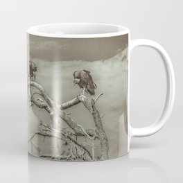 Vultures at Top of Tree Coffee Mug