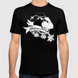 Bottom Forty Records (Classic) T-shirt