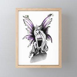 Mischievous Fairy Framed Mini Art Print