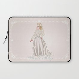 Grace Kelly Royal wedding dress - retro movies fashion - pinup - Hollywood Laptop Sleeve