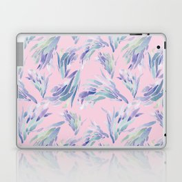 Succulent Pattern Pink- watercolor Laptop & iPad Skin