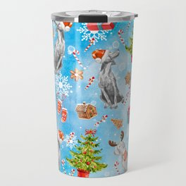 COOKIES FOR SANTA Travel Mug