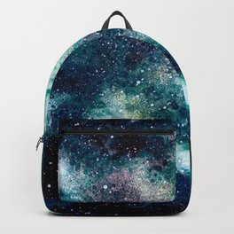Dreamy Cloud Galaxy, Blue Backpack