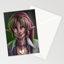 Link Valentine Stationery Cards