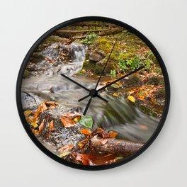 Dark Hollow Falls Stream Wall Clock