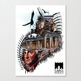 Sanssouci - Without Worries Canvas Print