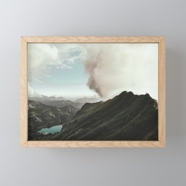 Far Views - Landscape Photography Framed Mini Art Print