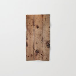 Burnt WoodGrain Hand & Bath Towel