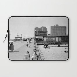 Atlantic City Boardwalk 1920, Apollo Theatre, Mitzi Laptop Sleeve