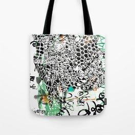 Jumbled inspiration Tote Bag