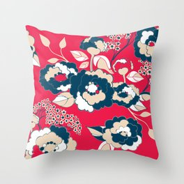 Rosetta in America Throw Pillow