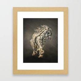 The Gypsy Cob Framed Art Print