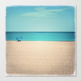 A Beautiful Spring Day at the Beach III Canvas Print