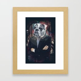 Obamadog Framed Art Print
