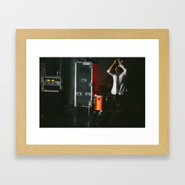 Jon Foreman - Switchfoot Framed Art Print