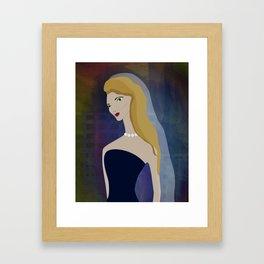 JEZEBEL-20 Framed Art Print