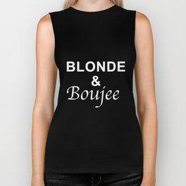 blonde and boujee grandma t-shirts Biker Tank