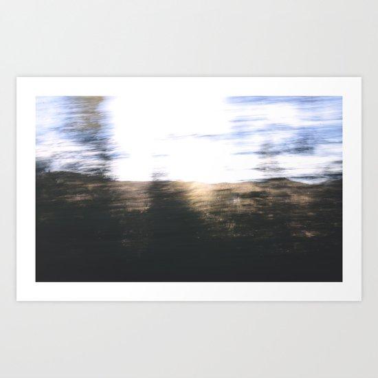 Trees Are Fast Art Print