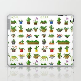 Pixel Plants Laptop & iPad Skin