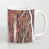 waterfall Mugs featuring Waterfall by Sandyshow