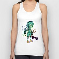 bmo Tank Tops featuring BMO! by Beelzey-Soda