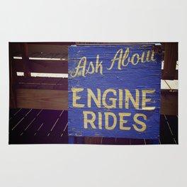Engine Rides Rug