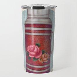Retro Warm Water Jar Travel Mug