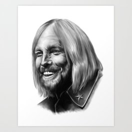 Time to Move On - Tom Petty Art Print