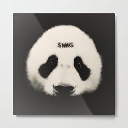 Swag Panda Metal Print