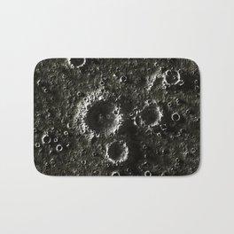 texture of the Moon, seamless Bath Mat