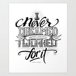 Quote - Lauder - Typedesign Art Print