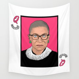 Queen of Dissent Wall Tapestry