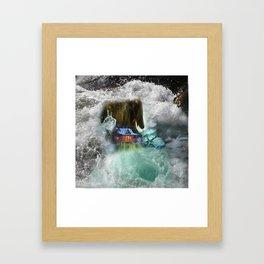 Bear Beyond Strength Framed Art Print