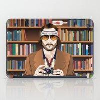 tenenbaum iPad Cases featuring Richie Tenenbaum by The Art Warriors