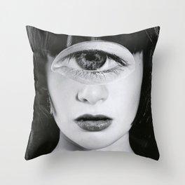 Siouxsie Doll. Throw Pillow