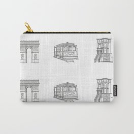 San Francisco Icons Carry-All Pouch
