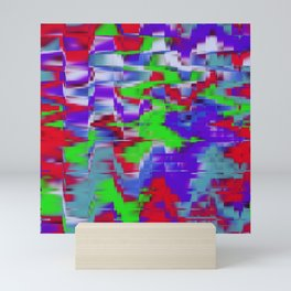 Abstract background 2654 Mini Art Print