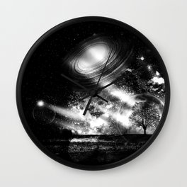 In a Lonely Place Wall Clock
