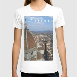 Firenze From Above T-shirt