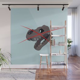christians against dinosaurs Wall Mural